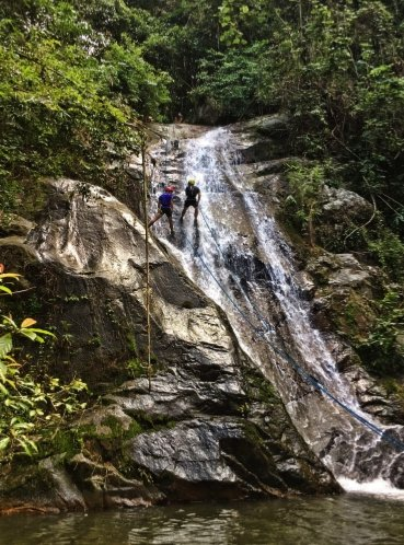 Waterfall Abseiling Anani Villa Janda Baik Pahang