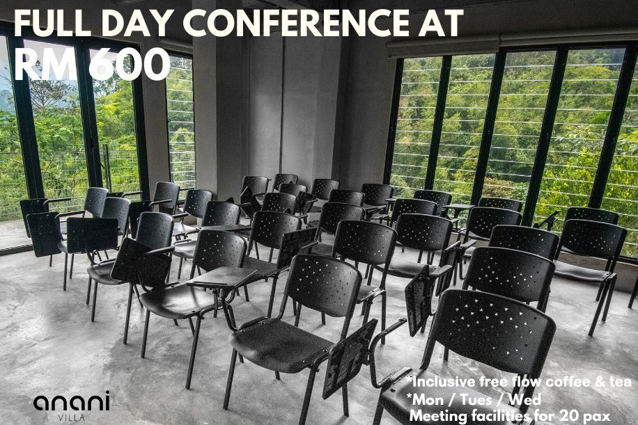 Meeting Facilities Promotion 2020 - Full Day Conference at RM600